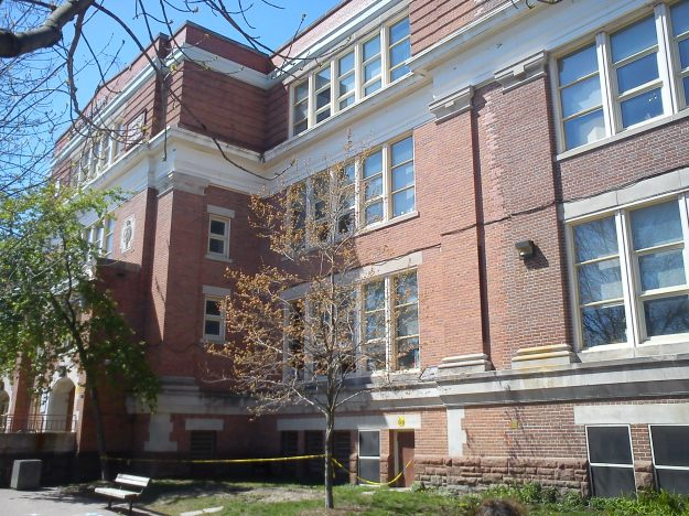 Duke of Connaught Public School, opened 100 years ago.
