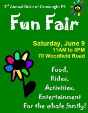 Duke of Connaught School Fun Fair  June 9-2012