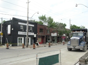 Queen Street East at Craven May 29 2012