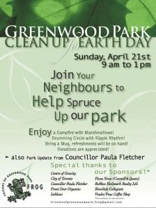 Greenwood Park clean up 2013
