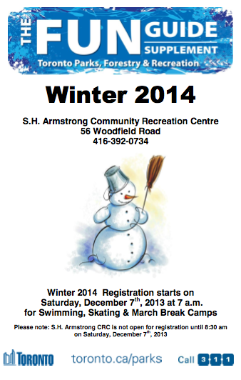 S.H. Armstrong Winter 2014