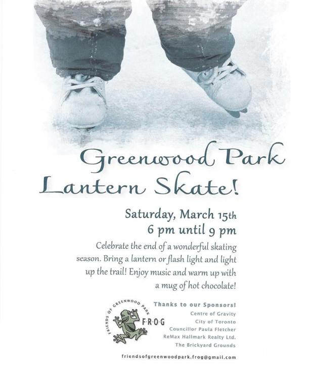 Celebrate the end of the skating season at Greenwood Park