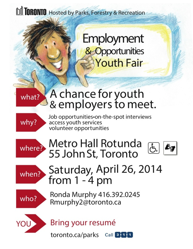 2014 Apr 26 youth job fair