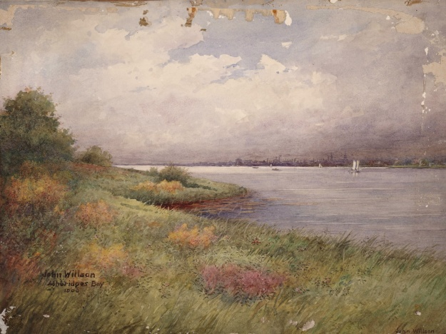 Ashbridge's Bay 1900 by John Willson.  Come to Joanne Doucette's talk to learn more.