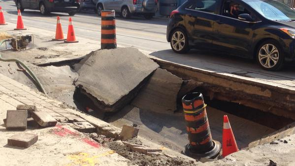 Gerrard-East-of-Greenwood-sinkhole-Sept6-2015-CTV-Pat-Darrah