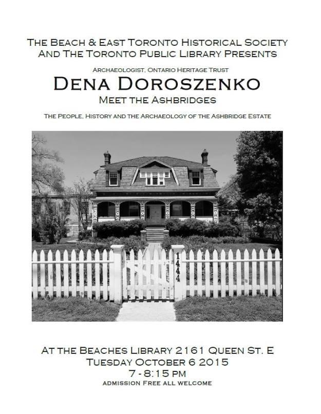 2015-10-06-Meet-the-Ashbridges-Beaches-Library-Dena-Doroszenko